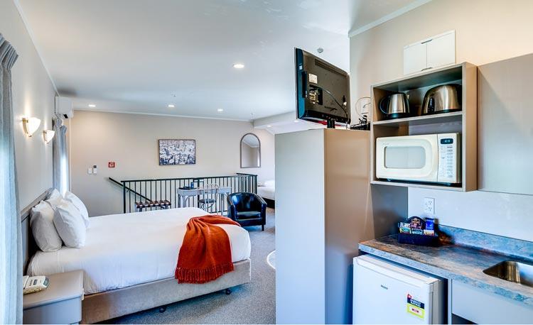 Hastings studio motel unit